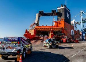 Sbarcata a Jeddah la carovana della Dakar 2020