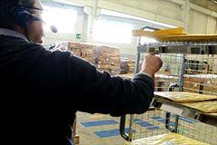 Novit� nel magazzino di Gorgonzola (MI) di SDA